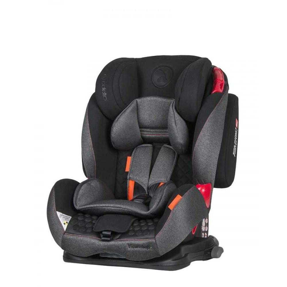 Стол за кола Coletto Vivaro Isofix Black 9-36 кг