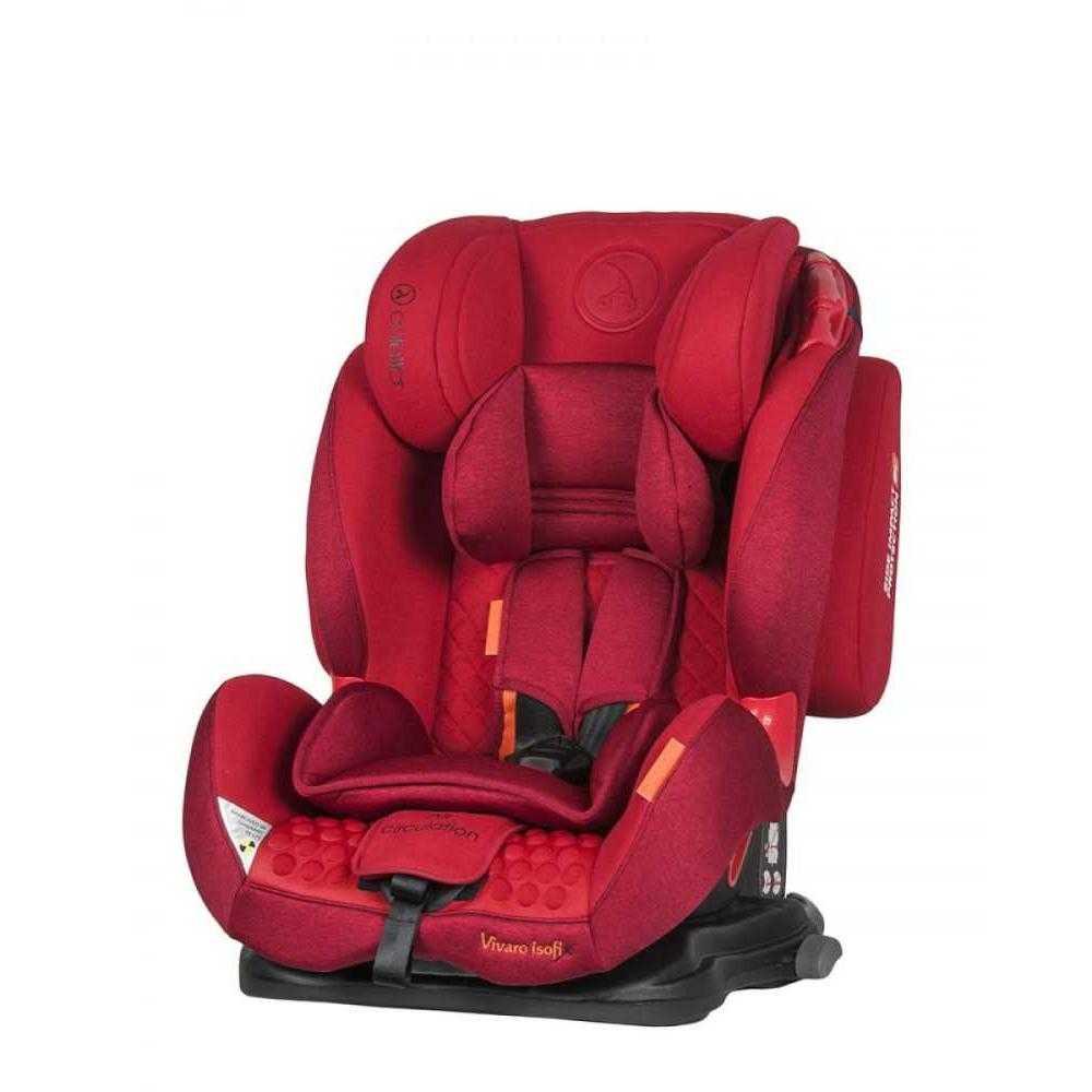 Стол за кола Coletto Vivaro Isofix Red 9-36 кг