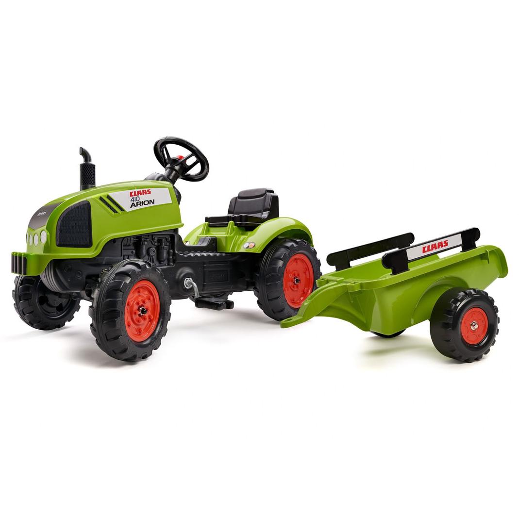 Трактор с ремарке Falk CLAAS