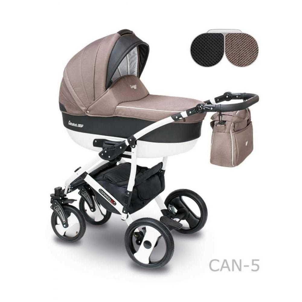 Комбинирана детска количка Camarelo Carera New Can – 5