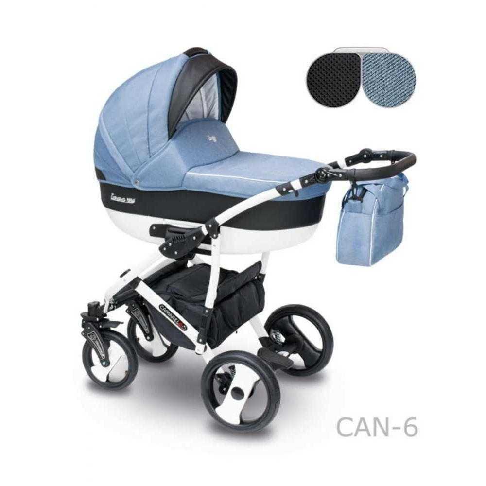 Комбинирана детска количка Camarelo Carera New Can – 6