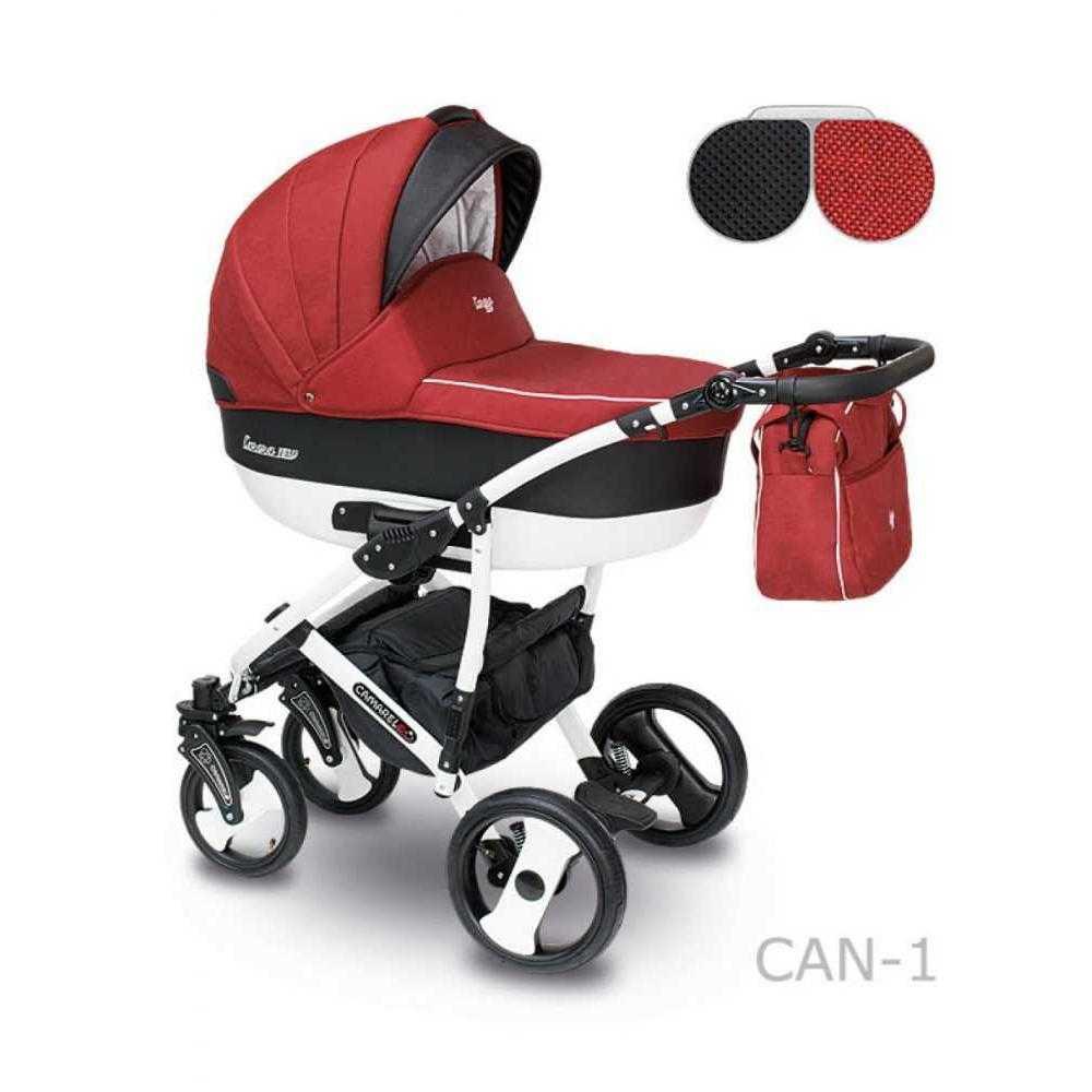Комбинирана детска количка Camarelo Carera New Can – 1