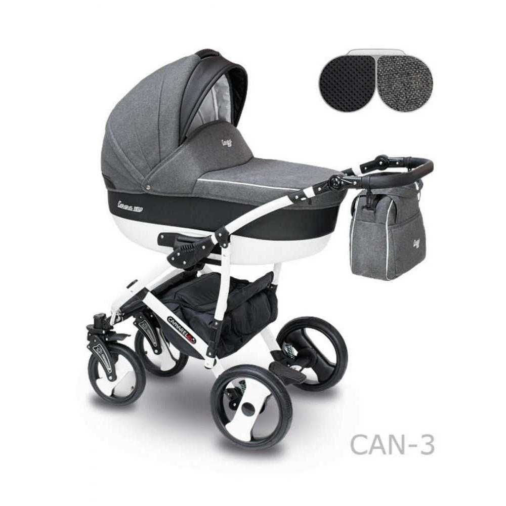Комбинирана детска количка Camarelo Carera New Can – 3