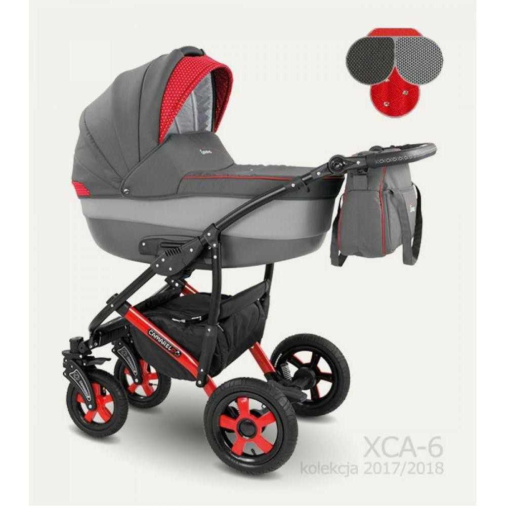Комбинирана детска количка Camarelo Carera XCA-6