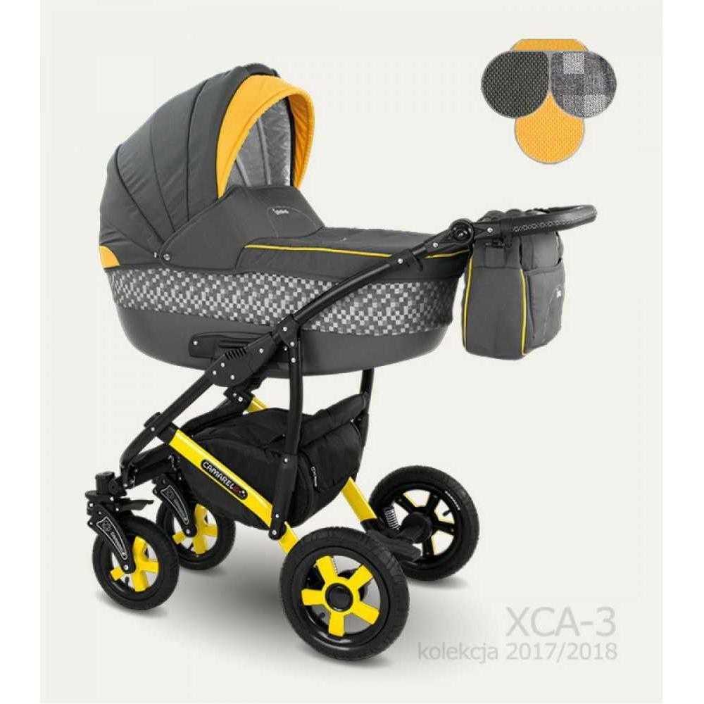 Комбинирана детска количка Camarelo Carera XCA-3