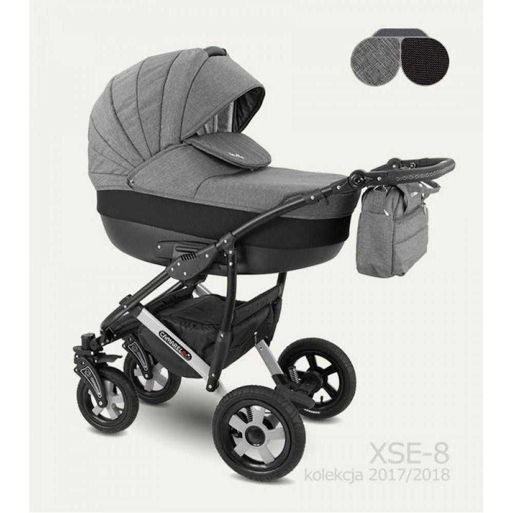 Комбинирана детска количка Camarelo Sevilla XSE-8