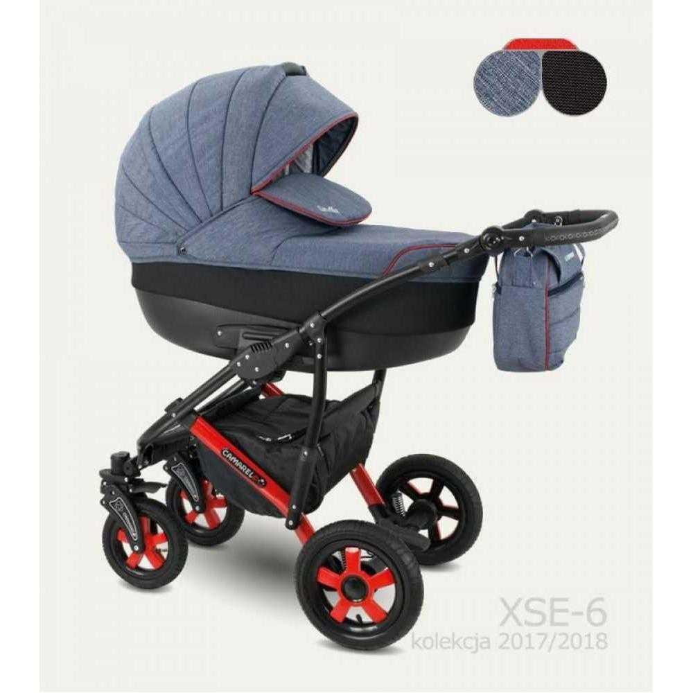 Комбинирана детска количка Camarelo Sevilla XSE-6