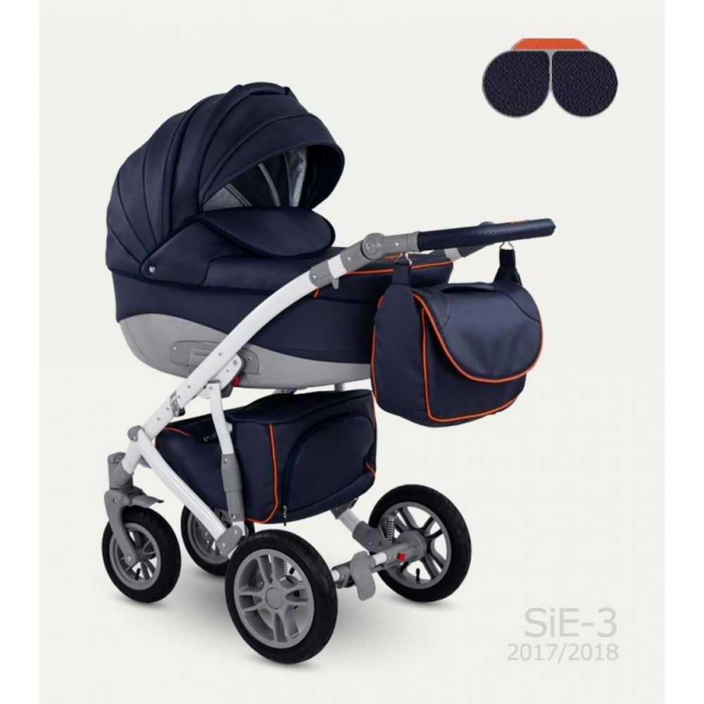 Комбинирана детска количка Sirion Eco SIE-3