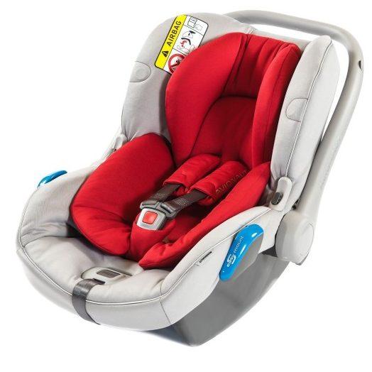 Столче за кола Avionaut Kite +, K.01, 0-13 кг, Червено
