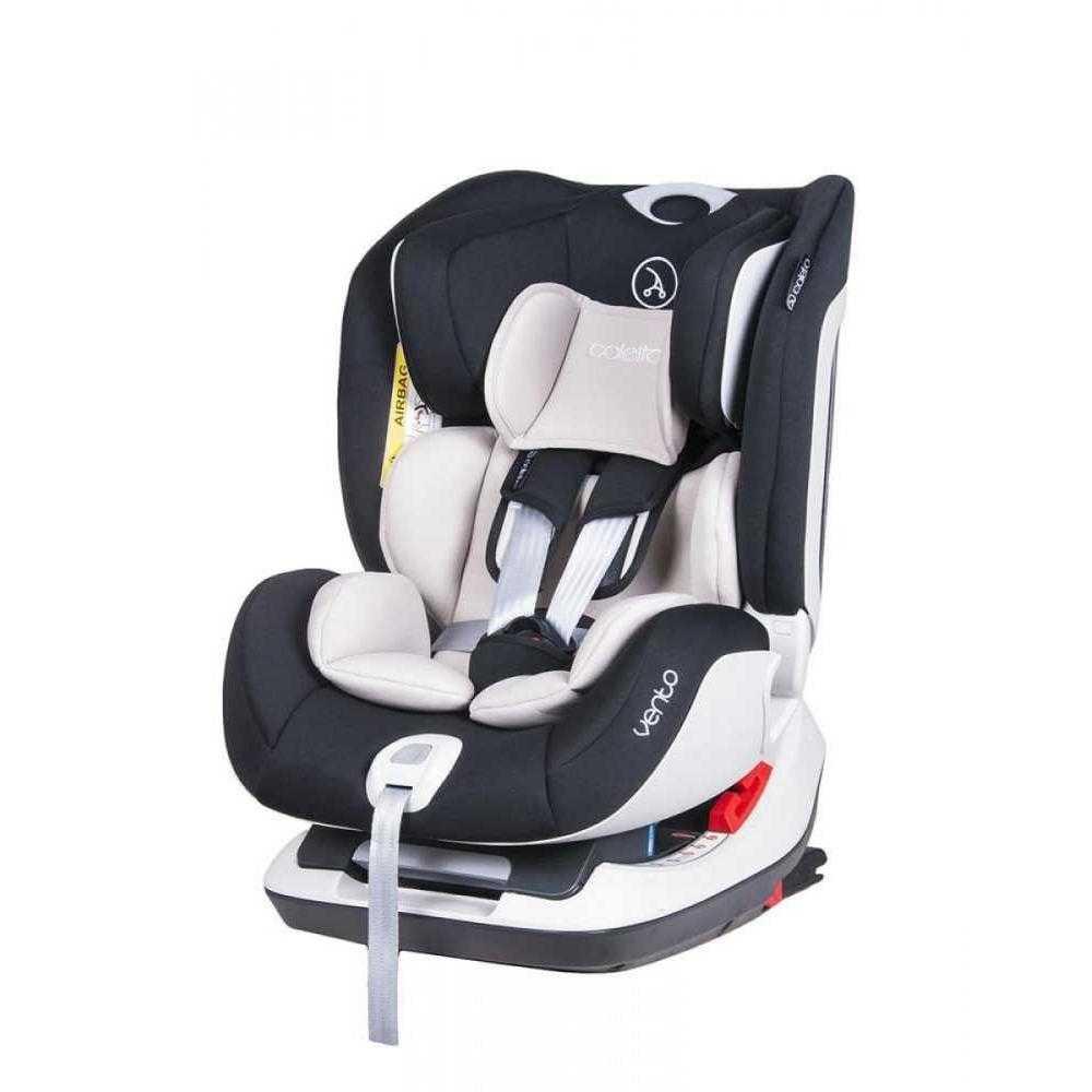 Стол за кола Coletto Vento Isofix Black 0-25 кг
