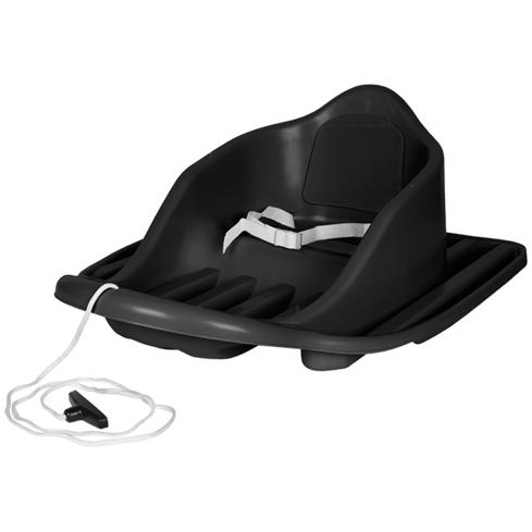 Stiga – Олекотена бебешка шейна с предпазен колан CRUISER Черна
