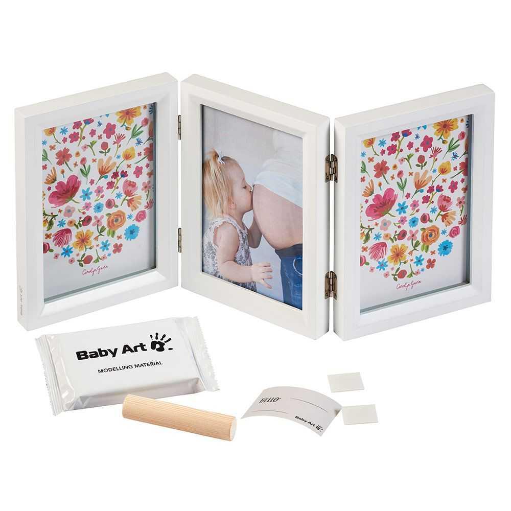 BABY ART Отпечатък за ръчичка и краче CAROLYN GAVIN LE 00025 за момиче
