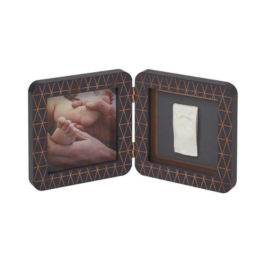 BABY ART Отпечатък – квадратен DarkGrey Copper PRINT 00011
