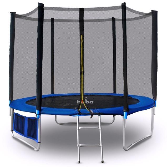 Детски батут Buba 10FT (305 см) с мрежа и стълба
