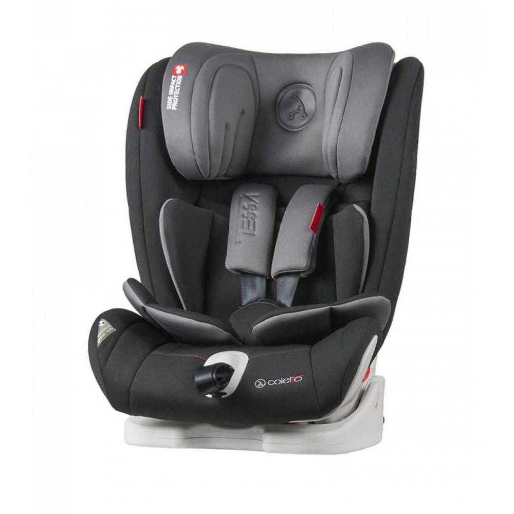 Стол за кола Coletto Tessa Isofix Black (9-36 кг)