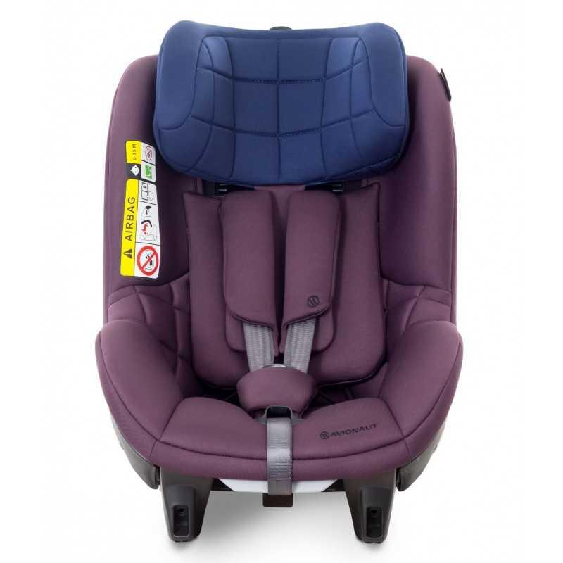 Столче за кола Avionaut AeroFIX, AF.04, 0-18 кг, лилаво/синьо