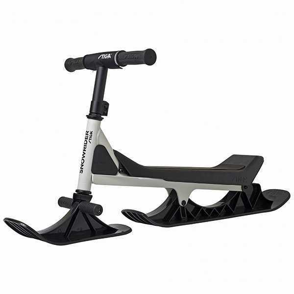 STIGA –   Снежен скутер SNOWRIDER бяло-черно