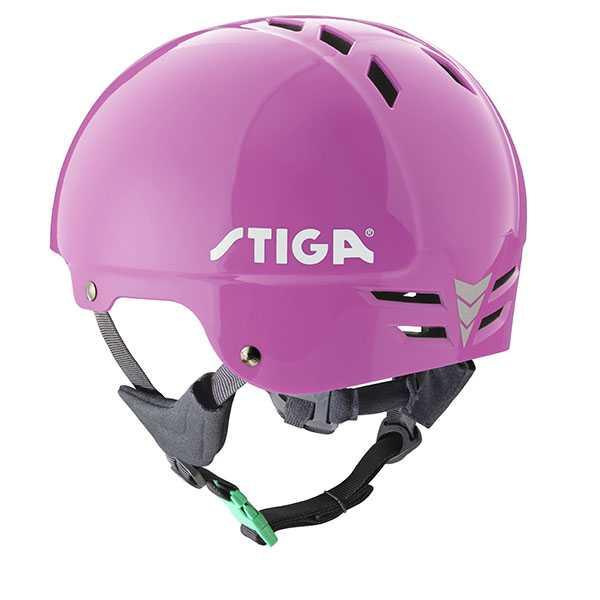 STIGA – Предпазна каска PLAY розова
