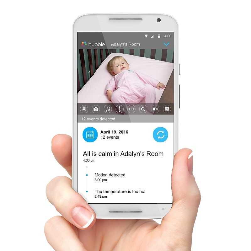 Бебефон Motorola MBP855 Connect, С камера и Wi-Fi