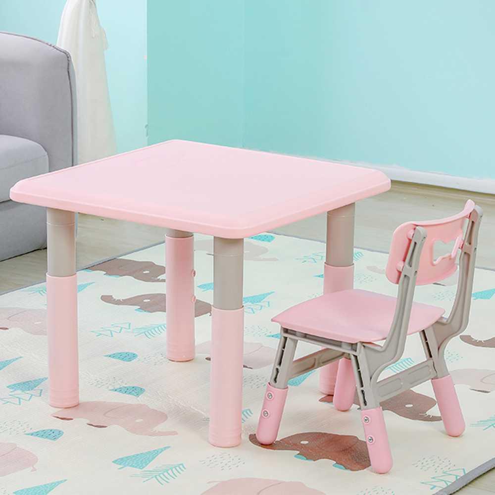 Moni garden – Маса с един стол Lala розов – 18106