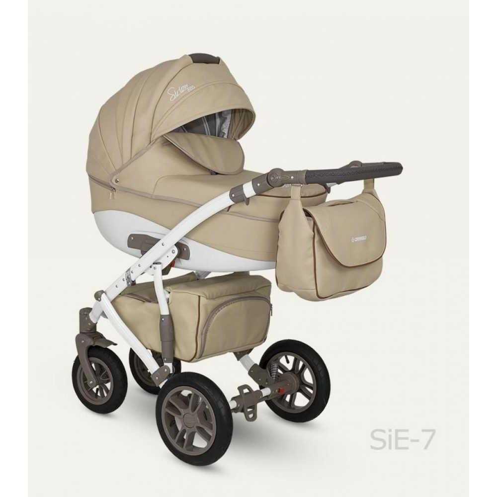 Комбинирана детска количка Sirion Eco SIE-7