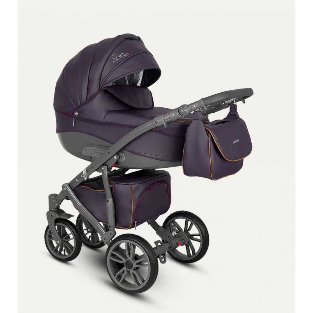 Комбинирана детска количка Sirion Eco SIE-8
