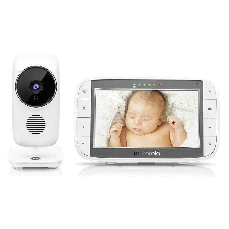 Видео бебефон Motorola MBP485