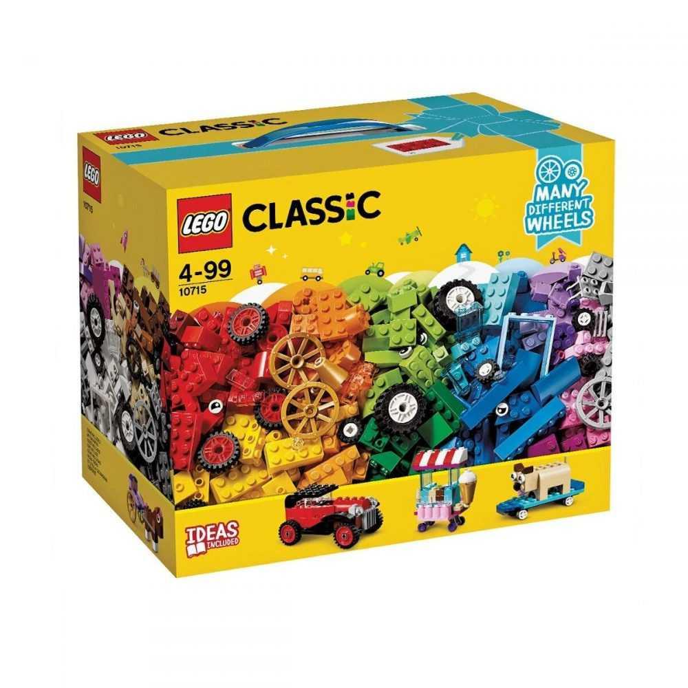 LEGO® Classic 10715 – Тухлички на колела
