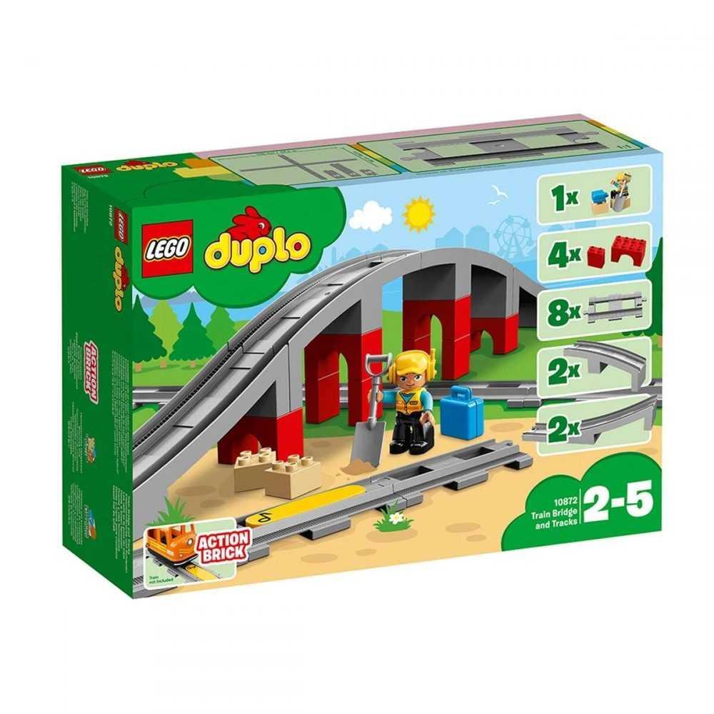 LEGO® DUPLO® 10872 – Мост и релси за влак