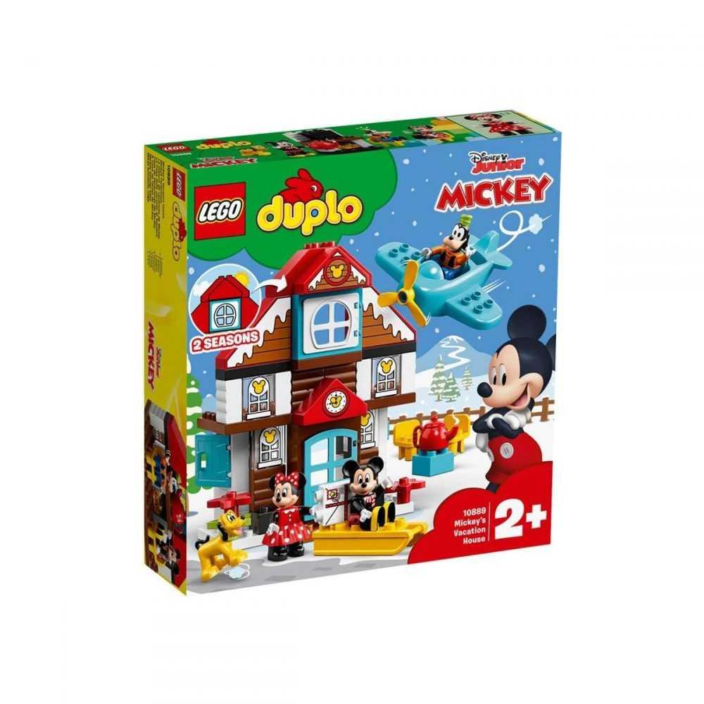 LEGO® DUPLO® Disney 10889 – Къщата за почивка на Mickey