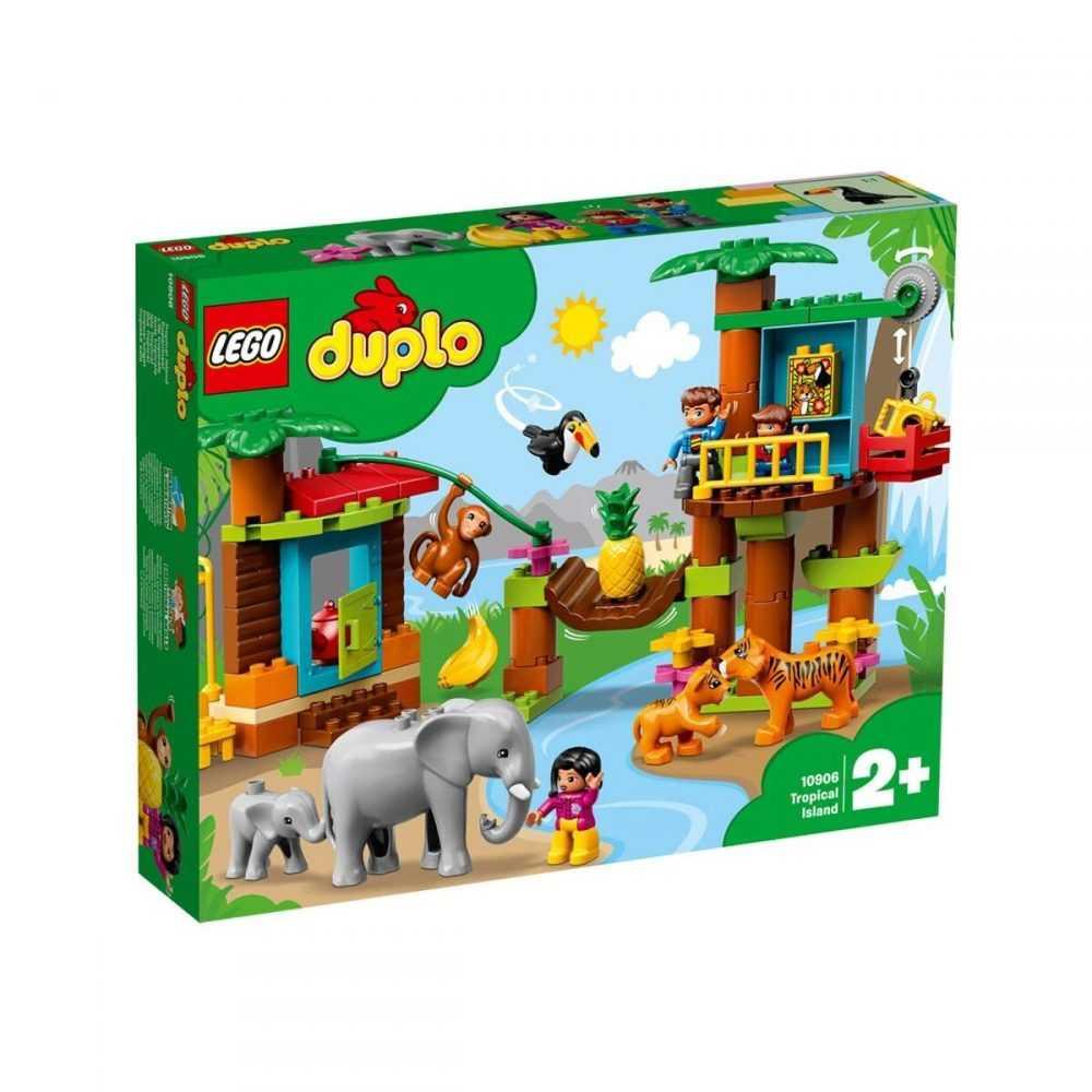LEGO® DUPLO® Town 10906 – Тропически остров
