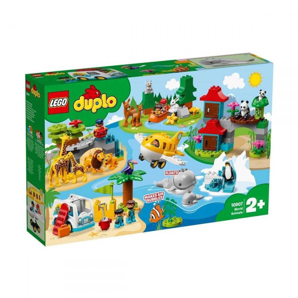 LEGO® DUPLO® Town 10907 – Животни по света