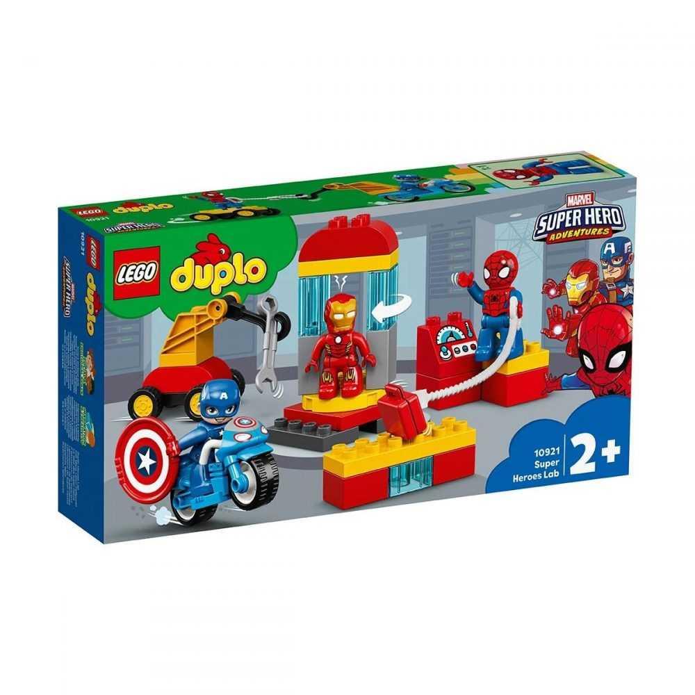 LEGO® DUPLO® Super Heroes 10921 – Лабораторията на супер героите