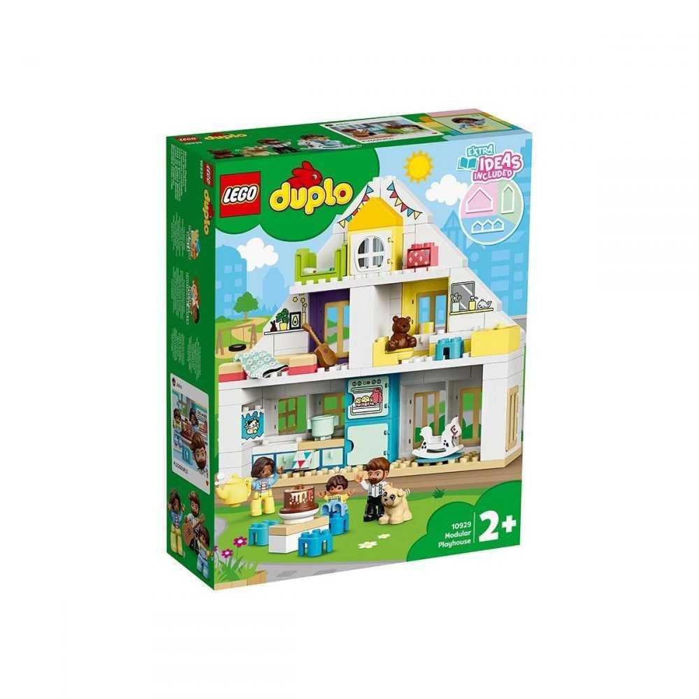 LEGO® DUPLO® Town 10929 – Модулна къща за игри