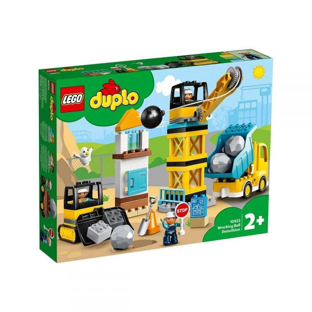 LEGO® DUPLO® Town 10932 – Разрушаване с разбиваща топка