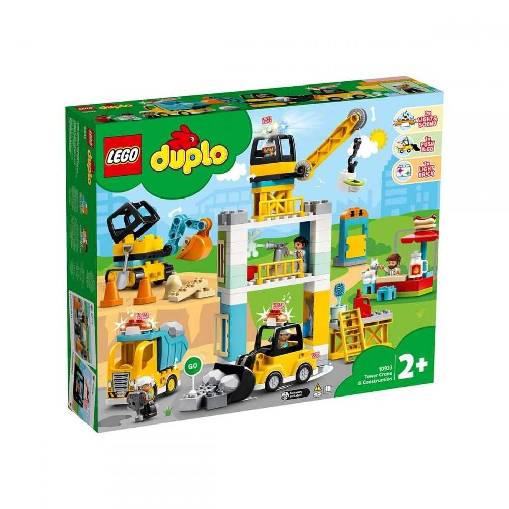 LEGO® DUPLO® Town 10933 – Строителен кран