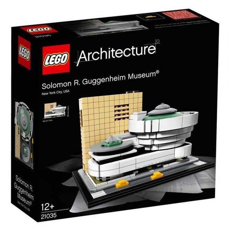 LEGO® Architecture 21035 – Музей СОЛОМОН ГУГЕНХАЙМ