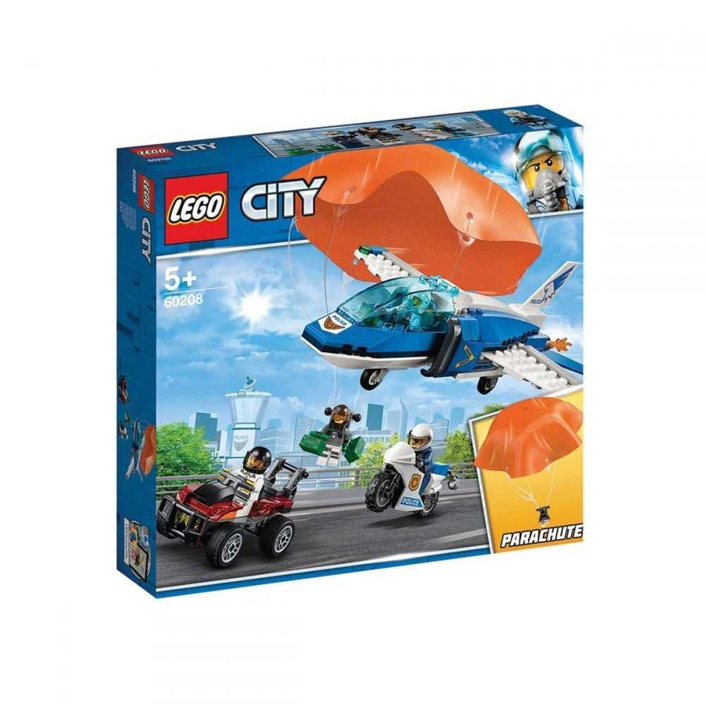 LEGO® City 60208 – Полиция в небето – арест с парашут