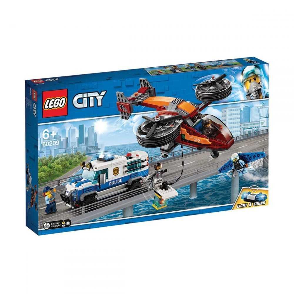 LEGO® City 60209 – Полиция в небето – кражба на диаманти