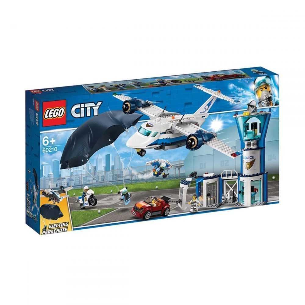 LEGO® City 60210 – Полиция в небето – въздушна база