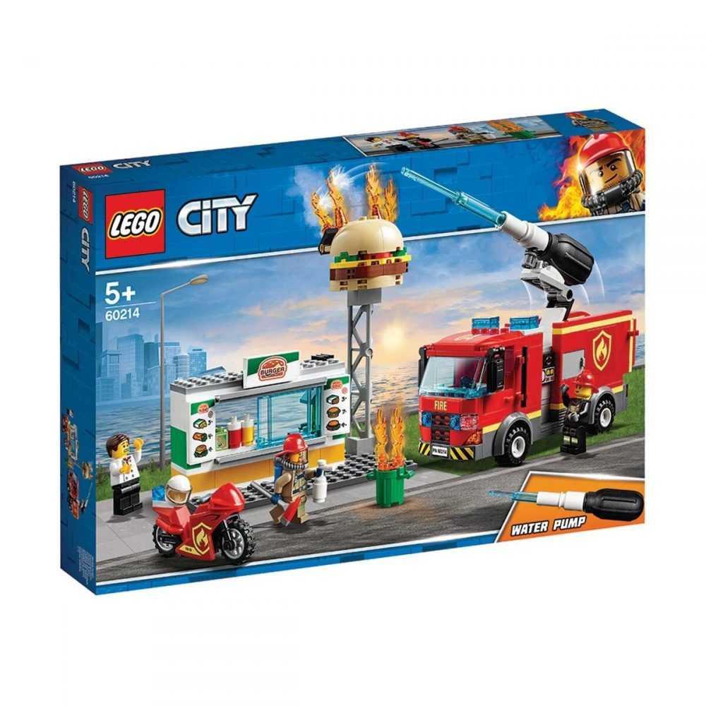 LEGO® City 60214 – Спасителна акция от пожар в бургер бар