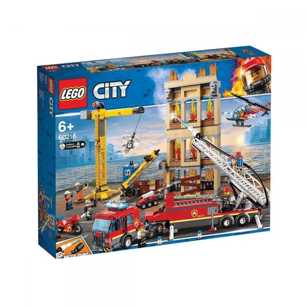 LEGO® City 60216 – Пожарна команда в центъра