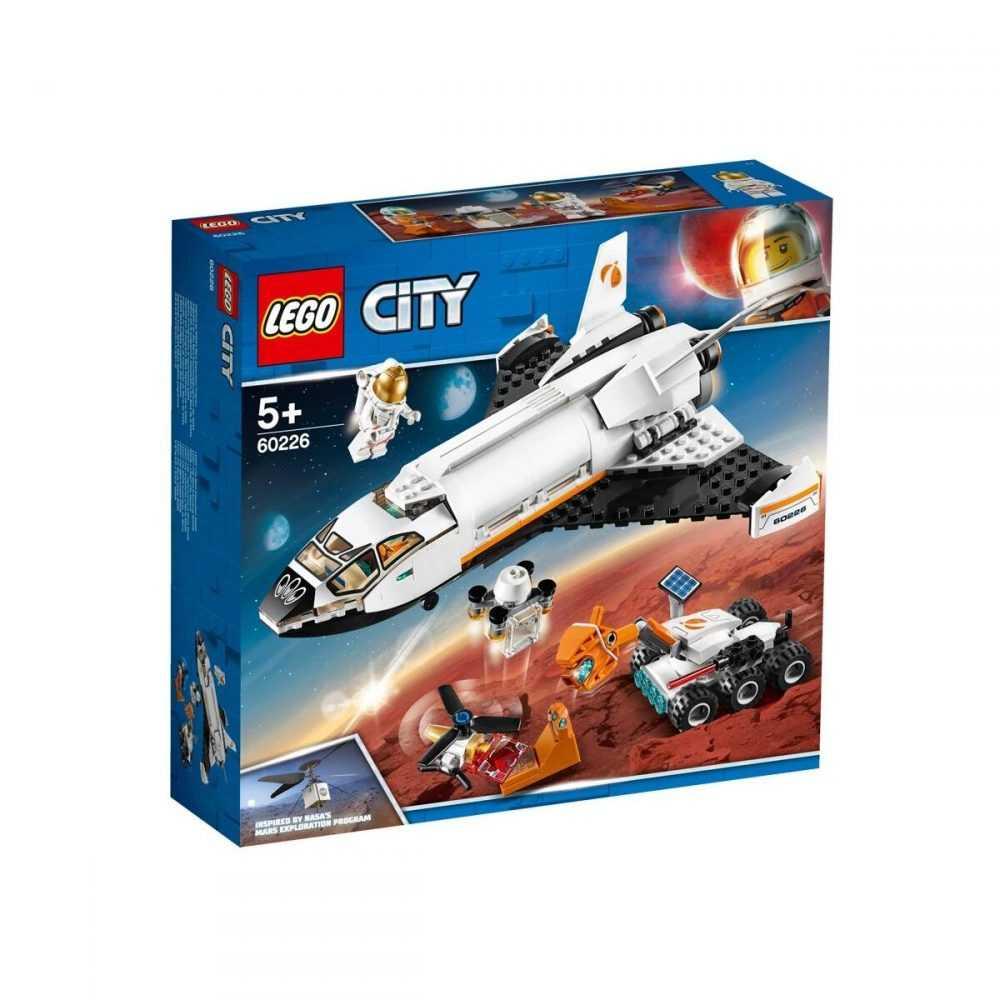 LEGO® City Space Port 60226 – Изследователска совалка за Марс