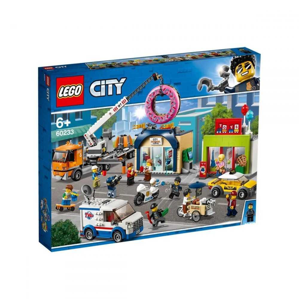 LEGO® City Town 60233 – Отваряне на магазин за понички