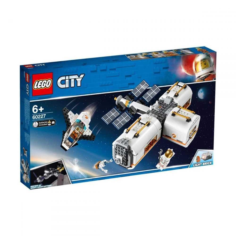 LEGO® City Space Port 60227 – Лунна космическа станция