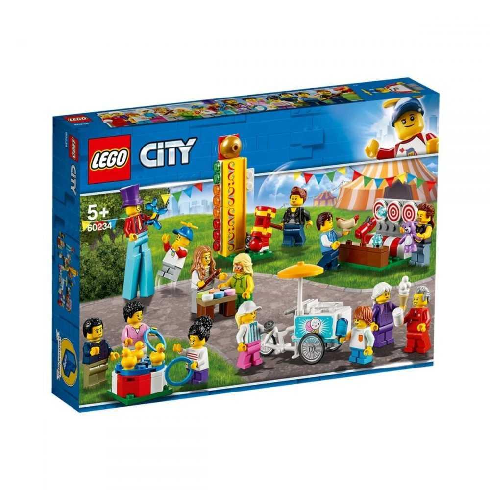 LEGO® City Town 60234 – Пакет с хора – панаир
