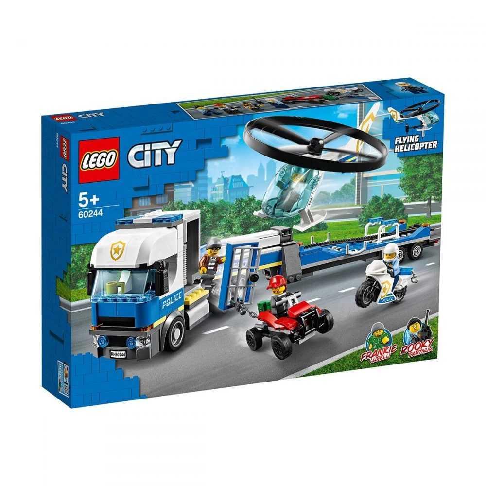 LEGO® City Police 60244 – Полицейски превоз с хеликоптер