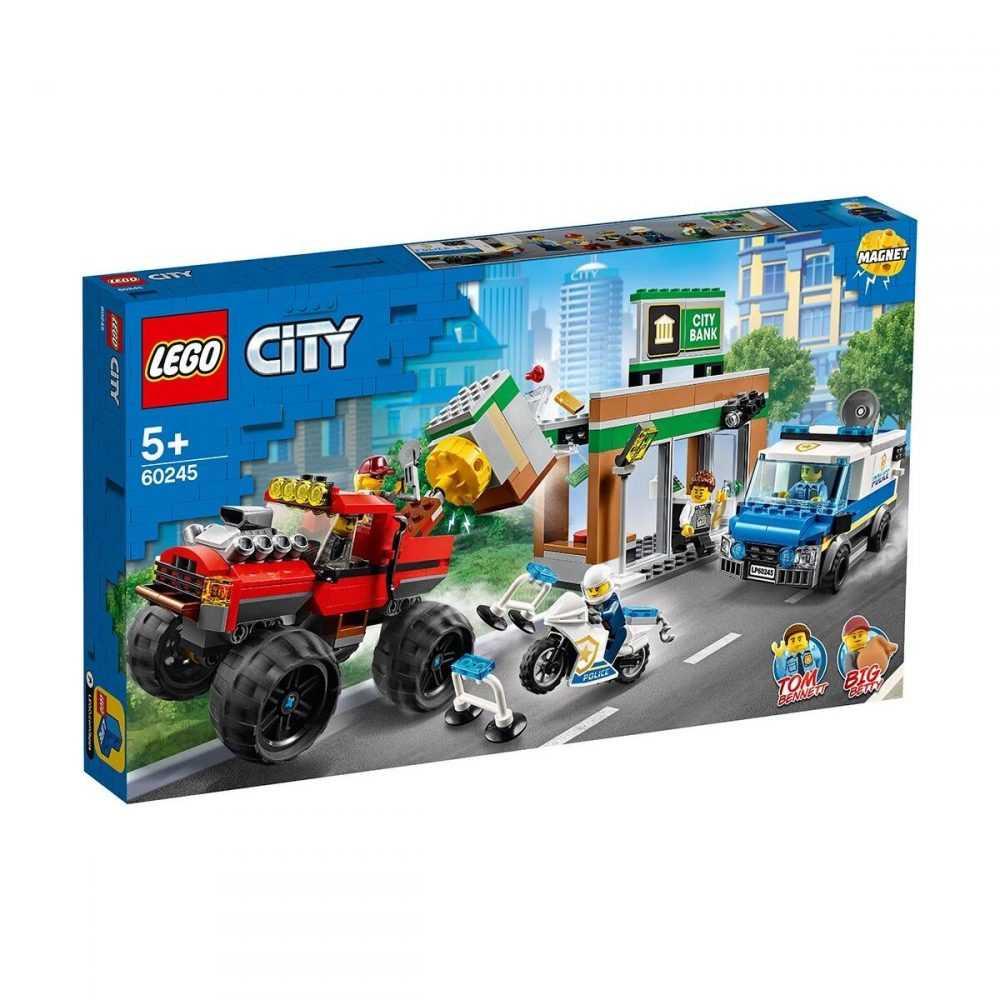 LEGO® City Police 60245 – Кражба на полицейски камион чудовище
