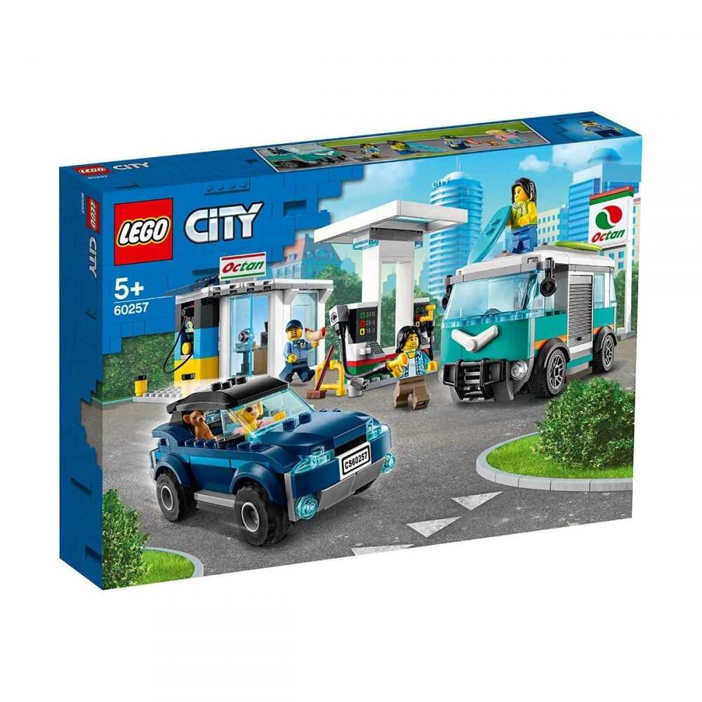LEGO® City Nitro Wheels 60257 – Сервизна станция