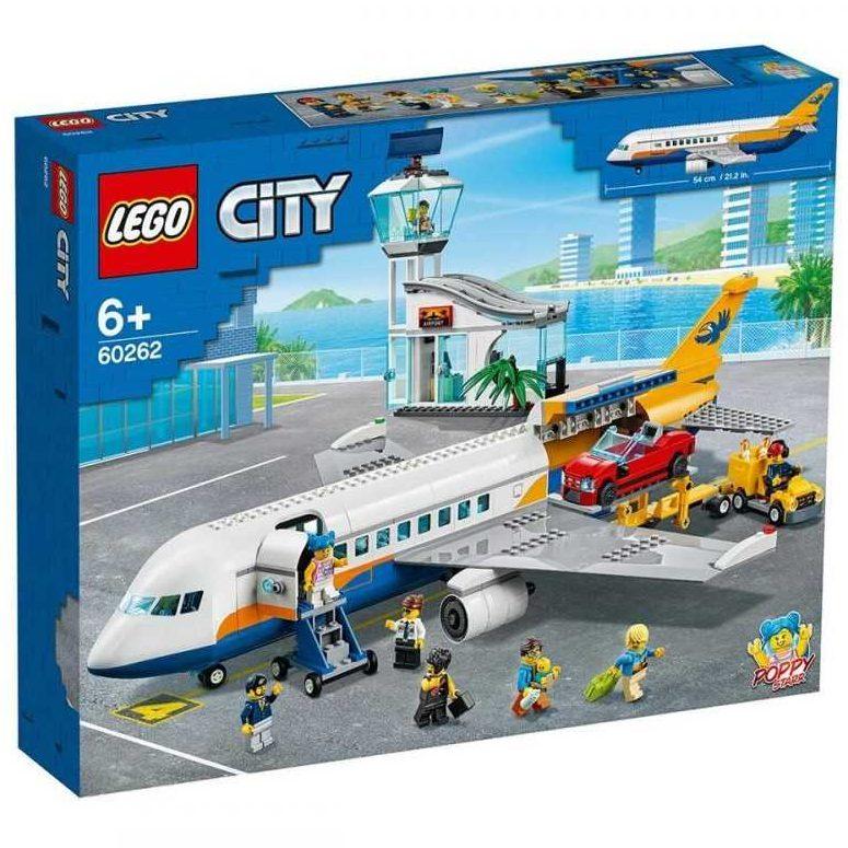 LEGO® City Airport 60262 – Пътнически самолет